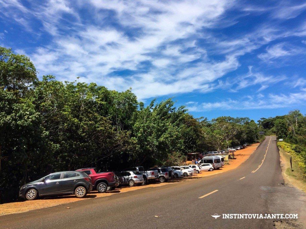 Estacionamento Cachoeira do Tijuípe