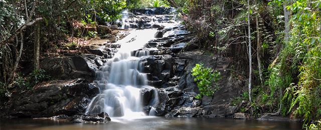 Véu de Noiva Cachoeira do Cleandro,