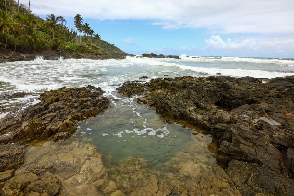 Piscina Natural em Praia da Gamboia