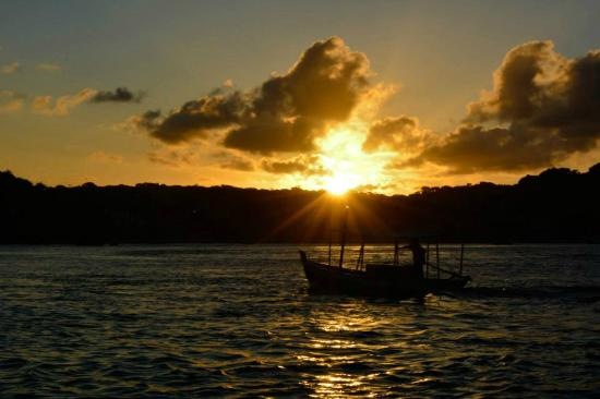 Por do sol no Mirante da Ponta do Xaréu