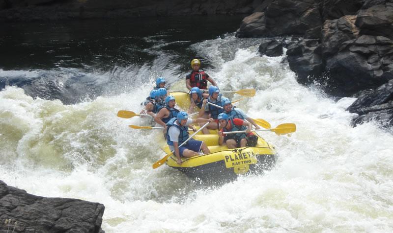 Rafting no Rio de Contas