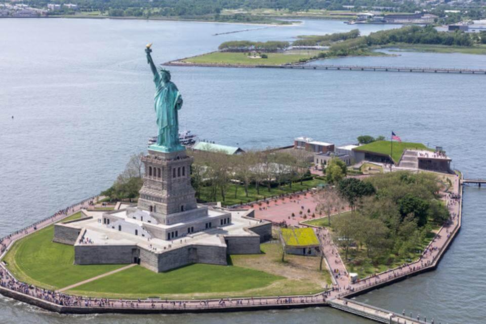 Libery Island, Manhattan, Nova York - EUA